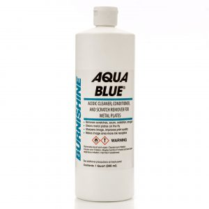 Burnishine Aqua Blue