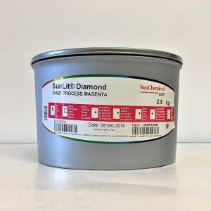 Sun Chemical SunLit® Diamond 4-Colour Process Ink - Magenta